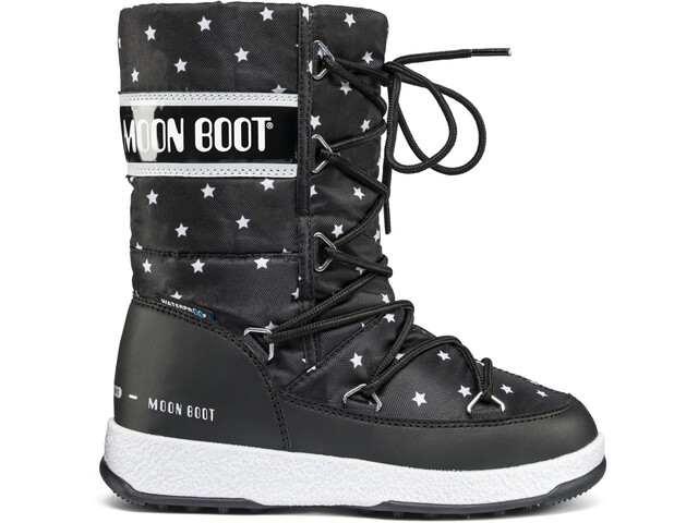 Moon Boot W.E. Quilted Star WP Laarzen Kinderen zwart